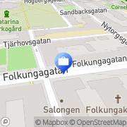 Karta air Revision Stockholm, Sverige