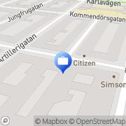 Karta Thomas Hernlund Försäkringskonsult AB Stockholm, Sverige