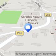 Mapa Bank Zachodni WBK S.A. 1 Oddział Pakość, Polska