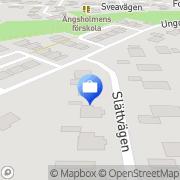 Karta Entreprenadjurist & Försäkringskonsult Brodowsky Armin Täby, Sverige