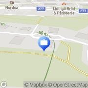 Karta Structiva Lidingö, Sverige