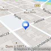 Mapa Bank Zachodni WBK. Bankomat Kędzierzyn-Koźle, Polska