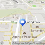 Mapa Bank Zachodni WBK. Bankomat Gdynia, Polska