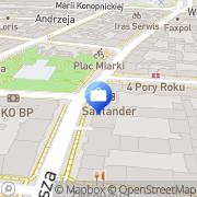 Mapa Bank Zachodni WBK S.A. I Oddział Katowice, Polska