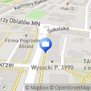 Mapa Signal Iduna Polska SA Katowice, Polska