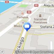 Mapa Zając K. Ubezpieczenia Malbork, Polska