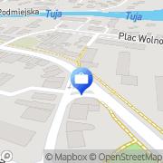 Mapa PKO Bank Polski. Bankomat Nowy Dwór Gdański, Polska