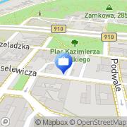 Mapa Bank Spółdzielczy. Punkt Kasowy Będzin, Polska