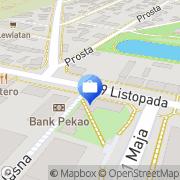 Mapa PKO Bank Polski. Bankomat Kutno, Polska