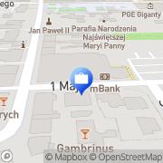 Mapa MultiBank. Bankomat Bełchatów, Polska