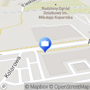 Mapa PKO Bank Polski. Bankomat Zgierz, Polska