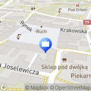 Mapa Multibank. Oddział Bankowości Detalicznej BRE Bank SA Chrzanów, Polska