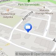 Mapa PKO Bank Polski. Bankomat Pasłęk, Polska