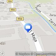 Mapa Agent Ubezpieczeniowy Piotr Golonka Sułkowice, Polska