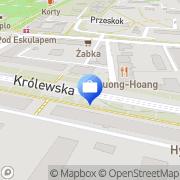 Mapa PKO Bank Polski. Bankomat Łęg, Polska