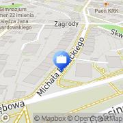Mapa Solvia Kraków, Polska