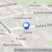 Mapa Kołodziejczyk Kraków, Polska