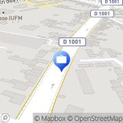 Carte de Cirano Service Amiens, France