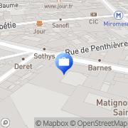 Carte de Union Normande d'Investissements Vanves, France