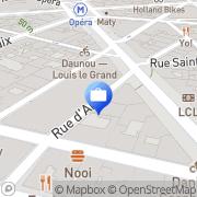 Carte de BANQUE BNP PARIBAS Paris, France