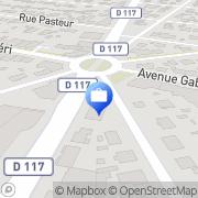 Carte de AXA Assurance FARINET,HANAUER,FERNOUX,MAUNOURY Sainte-Geneviève-des-Bois, France