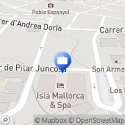 Map Isla Mallorca & Spa Palma de Mallorca, Spain