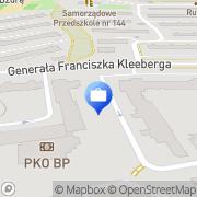 Mapa PKO Bank Polski. Oddział 3 Kraków, Polska