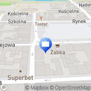 Mapa PKO Bank Polski. Bankomat Nowy Targ, Polska