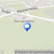 Mapa Bank Spółdzielczy w Sochaczewie. Oddział Rybno, Polska