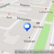 Karta Nordea Umeå, Sverige