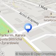 Mapa Ubezpieczenia Warta i Inne Żyrardów, Polska