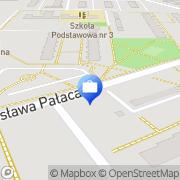 Mapa PKO Bank Polski. Bankomat Żyrardów, Polska