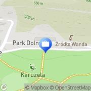 Mapa PKO Bank Polski. Bankomat Szczawnica, Polska