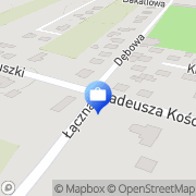 Mapa PKO Bank Polski. Bankomat Nasielsk, Polska