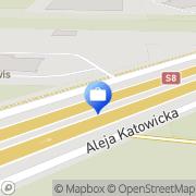 Mapa Bank Zachodni WBK S.A. Bankomat Nadarzyn, Polska