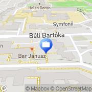 Mapa Agencja PKO Banku Polskiego Warszawa, Polska