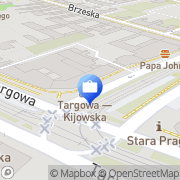 Mapa Multibank S.A. Warszawa, Polska