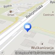 Mapa Bank Zachodni WBK S.A. Bankomat Warszawa, Polska