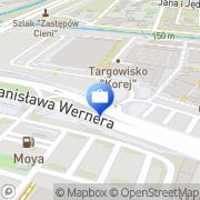 Mapa Bank Zachodni WBK S.A. Bankomat Radom, Polska