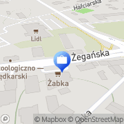 Mapa Bank Zachodni WBK S.A. XVII Oddział Warszawa, Polska