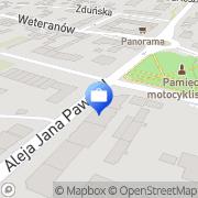 Mapa PKO Bank Polski. Bankomat Radzymin, Polska