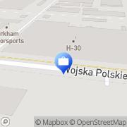 Mapa PKO Bank Polski. Bankomat Mielec, Polska
