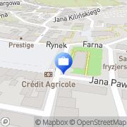 Mapa PKO Bank Polski. Bankomat Jasło, Polska