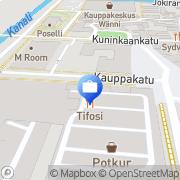 Kartta Pohjola Rauman toimisto Rauma, Suomi