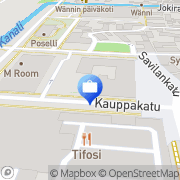 Kartta Eurajoen Säästöpankki, Rauman konttori Rauma, Suomi
