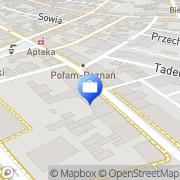 Mapa Bank Spółdzielczy Ostrołęka, Polska