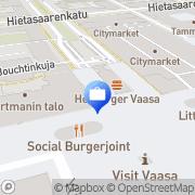 Kartta Alexandria Pankkiiriliike Oyj / Vaasan toimisto Vaasa, Suomi