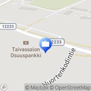 Kartta Pohjola Taivassalon palvelupiste Taivassalo, Suomi