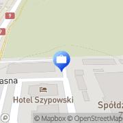 Mapa PKO Bank Polski. Bankomat Nowa Dęba, Polska