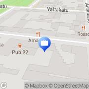 Kartta Tapiola-ryhmä Pori, Suomi